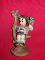 Antik Izsépy Margit kerámia:  Ágon hintázó fiú a képek szerint  17 cm