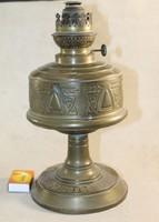 Antik réz petróleumlámpa 753