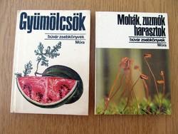 Búvár zsebkönyvek: Gyümölcsök / Mohák, zuzmók, harasztok