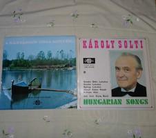 Magyar nóták hanglemezen: A kanyargós Tisza mentén; Solti Károly (retro lemez)