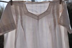 Antik régi damaszt ing blúz népi népviselet hagyományőrző