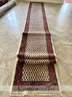 Iran Mír perzsaszőnyeg 845x88 cm