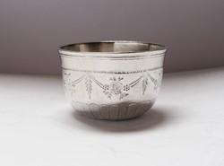 Orosz ezüst vodkát pohár 1798 Moszkva!