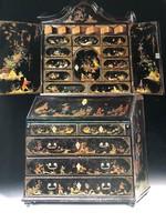 Kínai kabinetszekrény 1700-as évekből