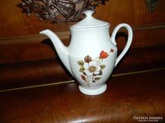 Wawel lengyel nagy virágmintás tea kiöntő