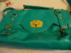 Türkiz színű női táska LEÁRAZVA!
