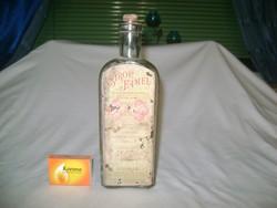 SIROP FAMEL - antik címkés gyógyszeres üveg