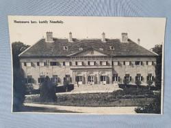 Németbóly Montenuovo hercegi kastély régi képeslap levelezőlap