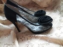 Fekete alkalmi cipők kiárusítása Angel Alarcon
