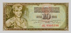 Jugoszlávia 10 Dinár 1968 UNC