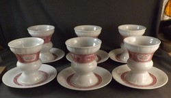 Porcelán pohár készlet 6 db-os