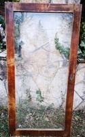Antik biedermeier vitrin ajtók.2 db.