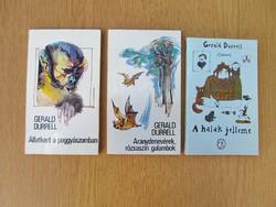Gerald Durrell : Állatkert a poggyászomban / Aranydenevérek, rózsaszín galambok / A halak jelleme