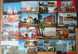 90 Db Balaton képeslap gyűjtemény egyben eladó.
