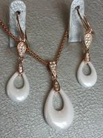 Stella Maris Graceful ékszer szett brill kövekkel