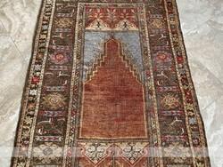 Antik 19.sz-i Ladik szőnyeg 190x110