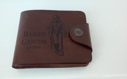Bailini Genuine Leather bőr pénztárca