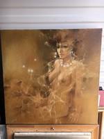 Női akt festmény