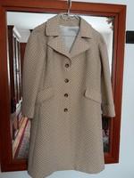 Retro elegancia -pillekönnyű kabát  46