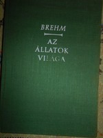 Brehm : Az állatok világa Színes eredeti litográfiákkal I.kötet Rovarok, bogarak, pókok