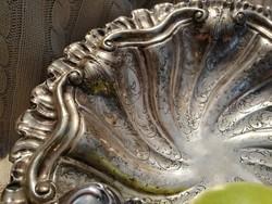 Miracoli, nagyméretű ezüst tál