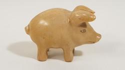 Ritka herendi mini malac porcelán figura / óheredi