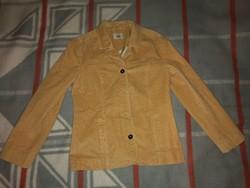 Kenny's bézs / világosbarna női bársony kabát