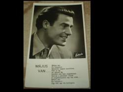 Képeslap-Sárdy János: Május van..1944-ben futott