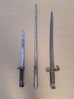 Második világháborús szúró vágó eszközök,,kard,tőr,szurony