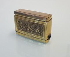 Réz cigaretta készítő gördülő doboz