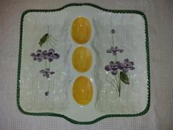 Kerámia tojástartó tál