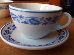 Retro -50-es évek- Zsolnay kávés csésze aljjal