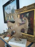Picasso stílusában !!!!! Nem semmi bronz szobor!!!!