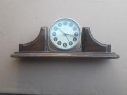 Régi magyar gyártású art deco Danuvia asztali ébresztő óra