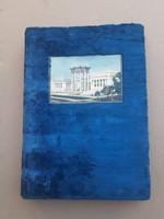 Régi orosz  képeslap berakó album. 1925- ből.