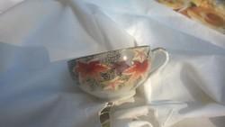 Antik intagliós japán csésze tojáshéj porcelán hibátlan különlegesség
