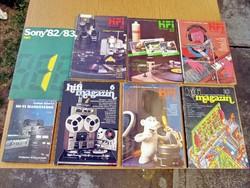 Hi-Fi Hangstúdió / Hifi magazin(ok)