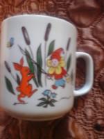 Nyuszis teás csésze