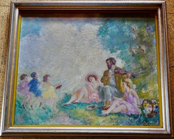 PRIHODA ISTVÁN ( 1891-1956): MÁJUSI PIKNIK