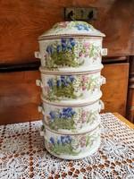 - 40 % Antik porcelán ételhordó