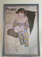 Picasso 1979-1980 párizsi kiállításának plakátja