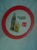 Coca Cola régi fém tálca