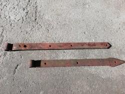 Antik kovácsoltvas kapu vasalatok, pántok