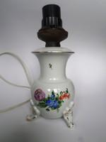   Herendi lámpa virágmintás  17 cm