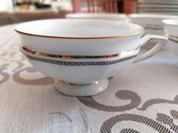 8 db gyönyörű Rosenthal ('Maria') teáscsésze 8 db desszertes tányérral,  vitrinállapotban!