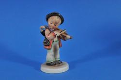 Hummel figura, hegedülő kisfiú