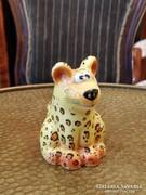 Goebel porcelán sószóró párduc leopárd 7cm Hummel Marsupilami