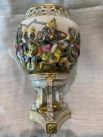 Capodimonte kis váza