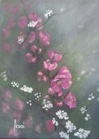 Tavasz című festmény, csendélet