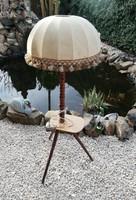 Retro Működőképes állólámpa, lámpa, nosztalgia darab, Gyűjtői szépség